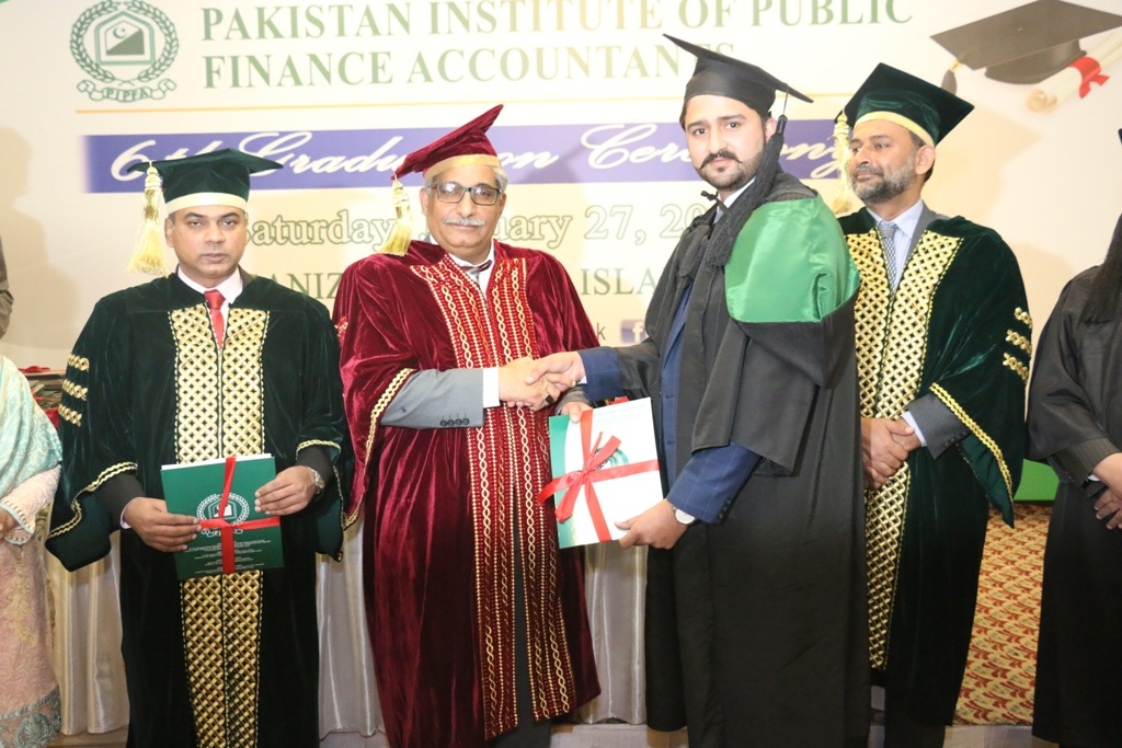 6TH GRADUATION CEREMONY, PIPFA ISLAMABAD