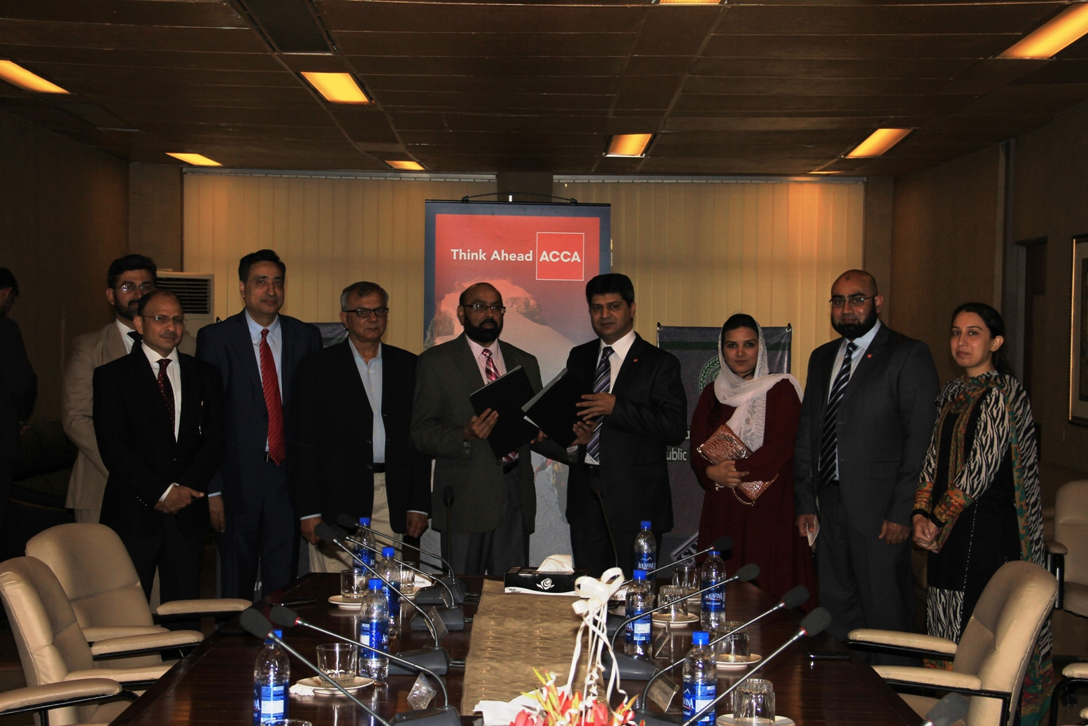 MOU Signing Ceremony between PIPFA & ACCA