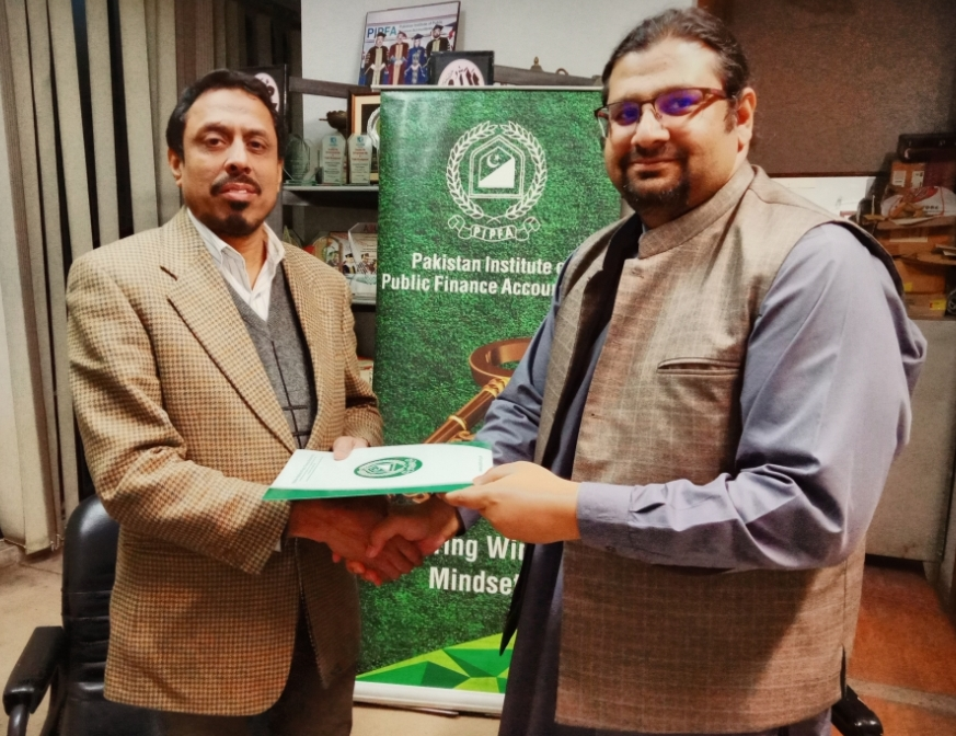PIPFA, Lahore School of Accountancy and Finance (LSAF), The University of Lahore sign MoU for SAP Training