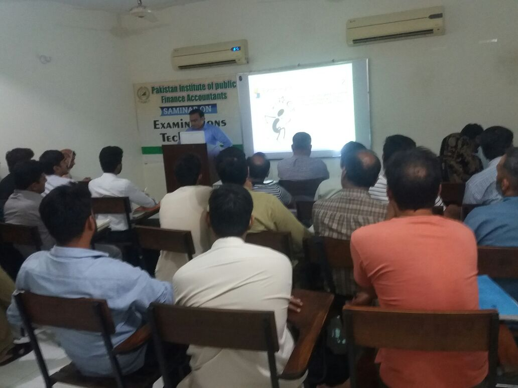 Seminar on Examination Techniques - PIPFA Lahore Center