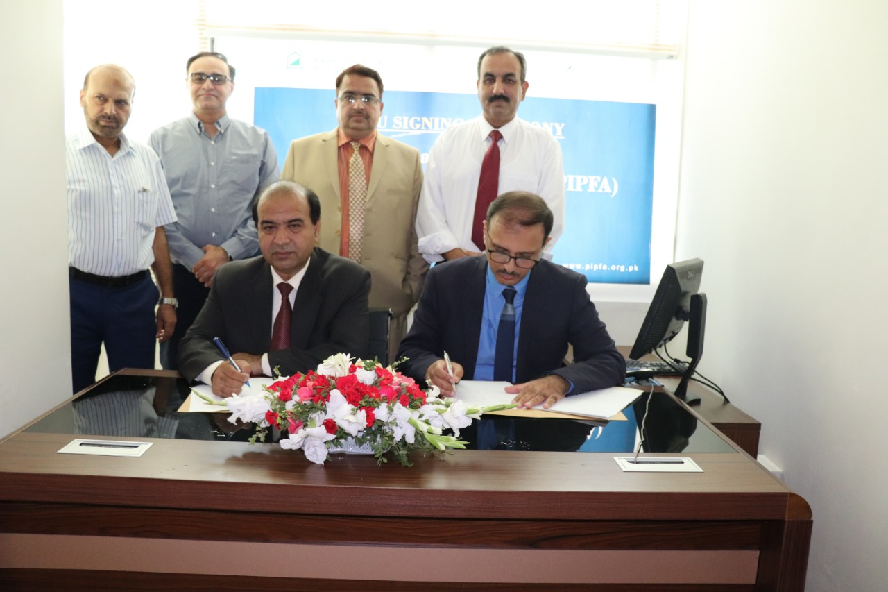 MoU for Digital Collaboration and Webinar Facility between PIPFA & Knowledge Now