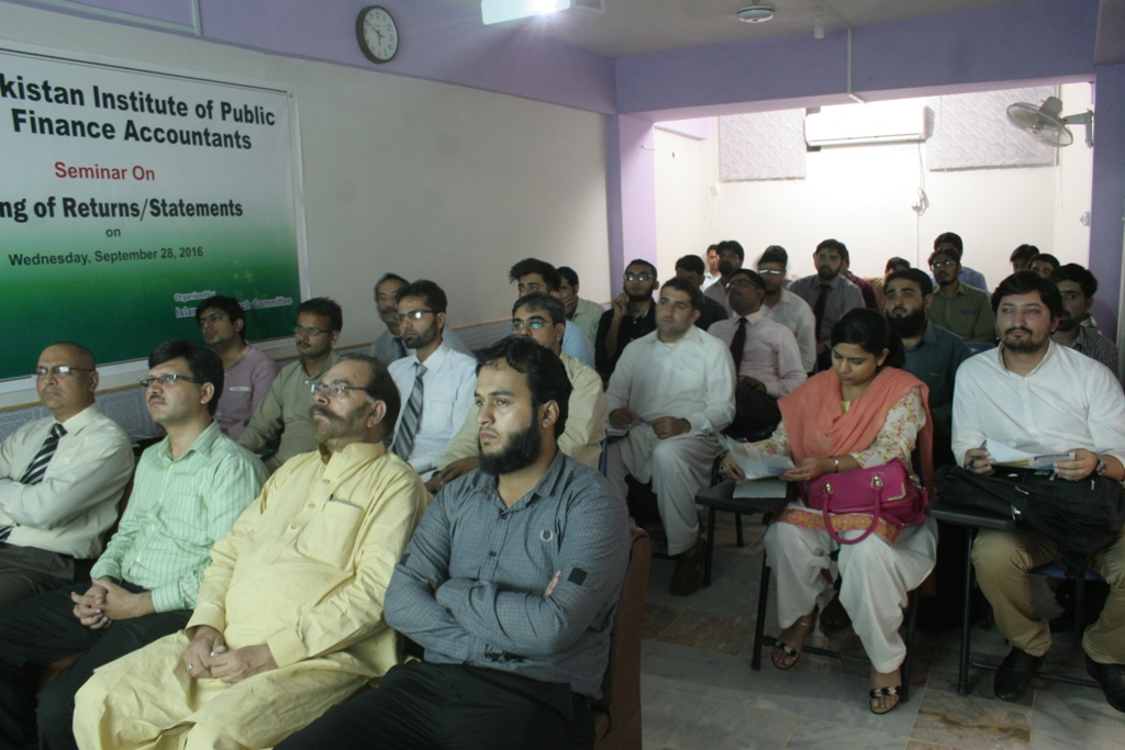 "Seminar on ""E-filing of Returns/Statements"""