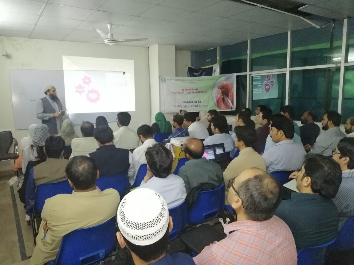 Seminar on Exam Techniques - PIPFA Islamabad - 2018