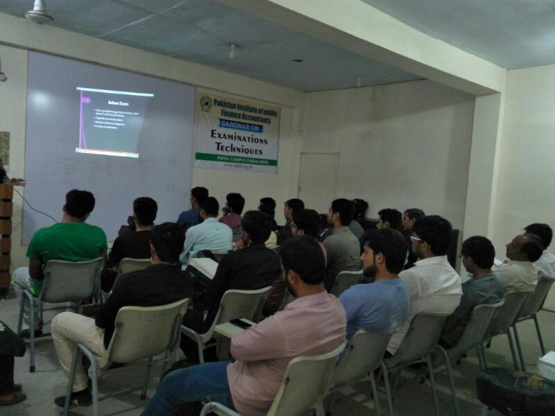 Seminar on Examination Techniques - Summer 2018 -PIPFA Faisalabad Center