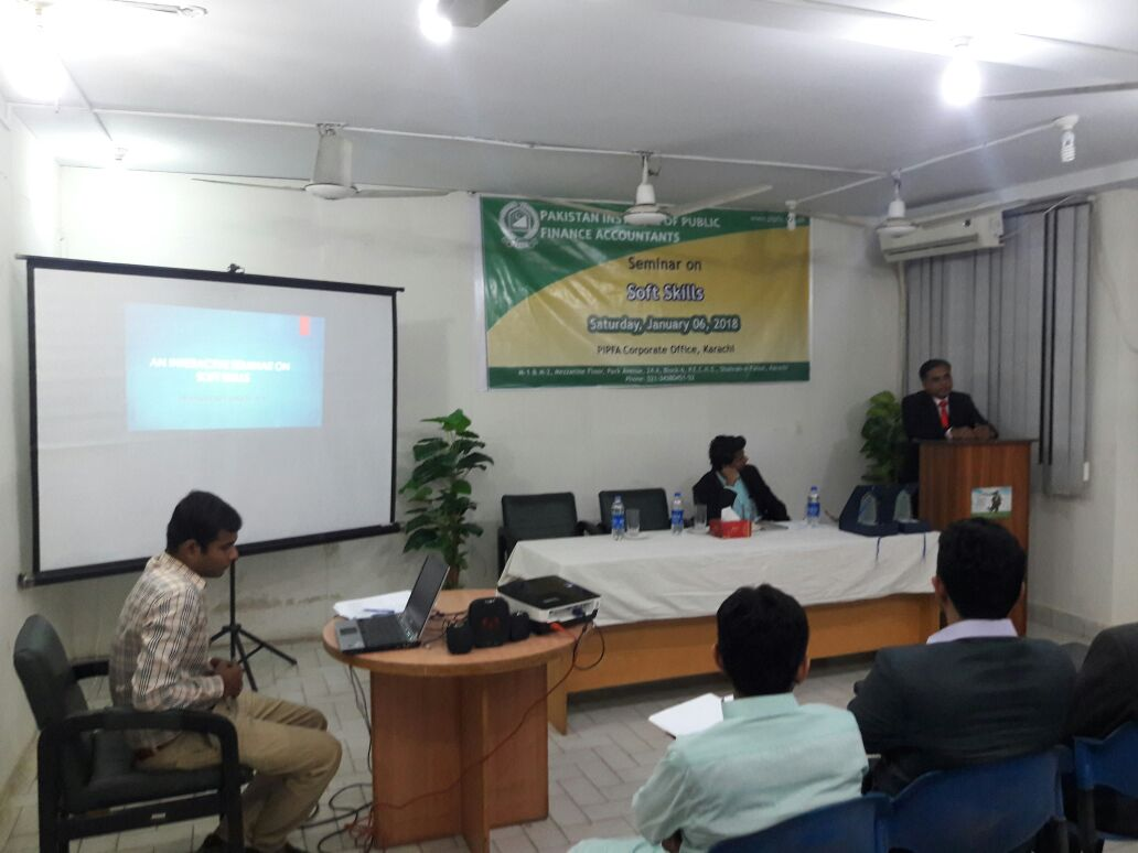 Seminar on Soft Skills - PIPFA Karachi