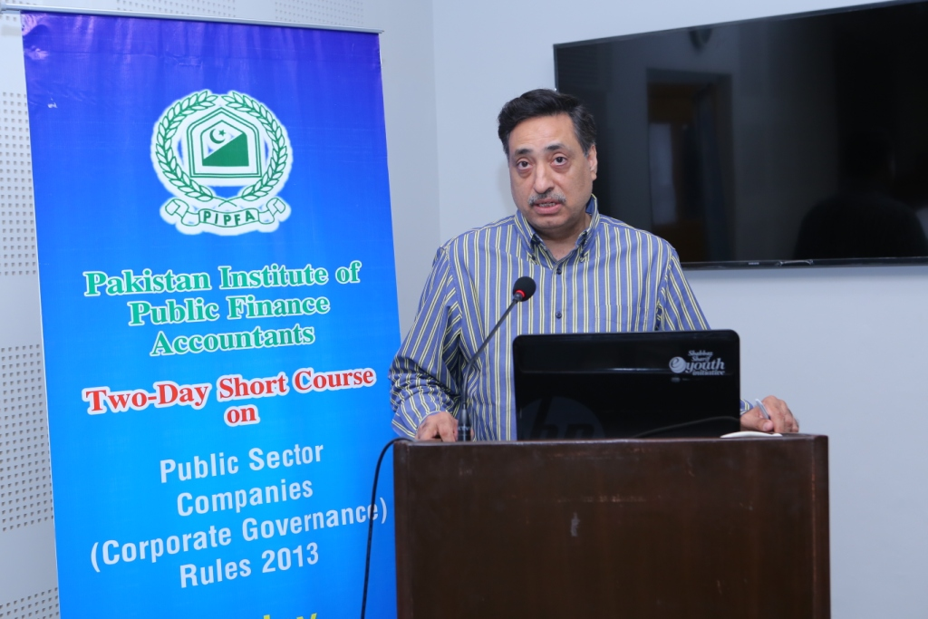 Two-Days Workshop on Public Sector Companies (Corporate Governance) Rules 2013 - PIPFA Lahore